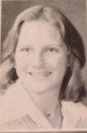 Clarissa Bradstock in 1978.  Robertsdale High School